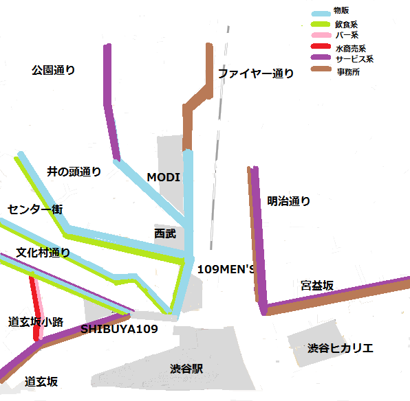 渋谷イメージ図