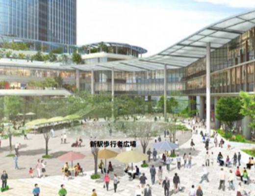 新駅広場パース2