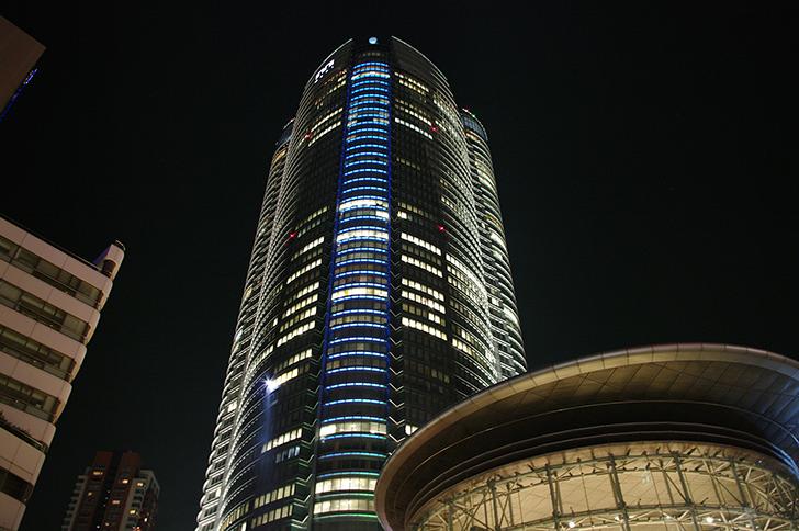 六本木通り(夜)画像