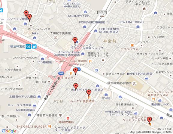 原宿・表参道に出店した海外飲食店