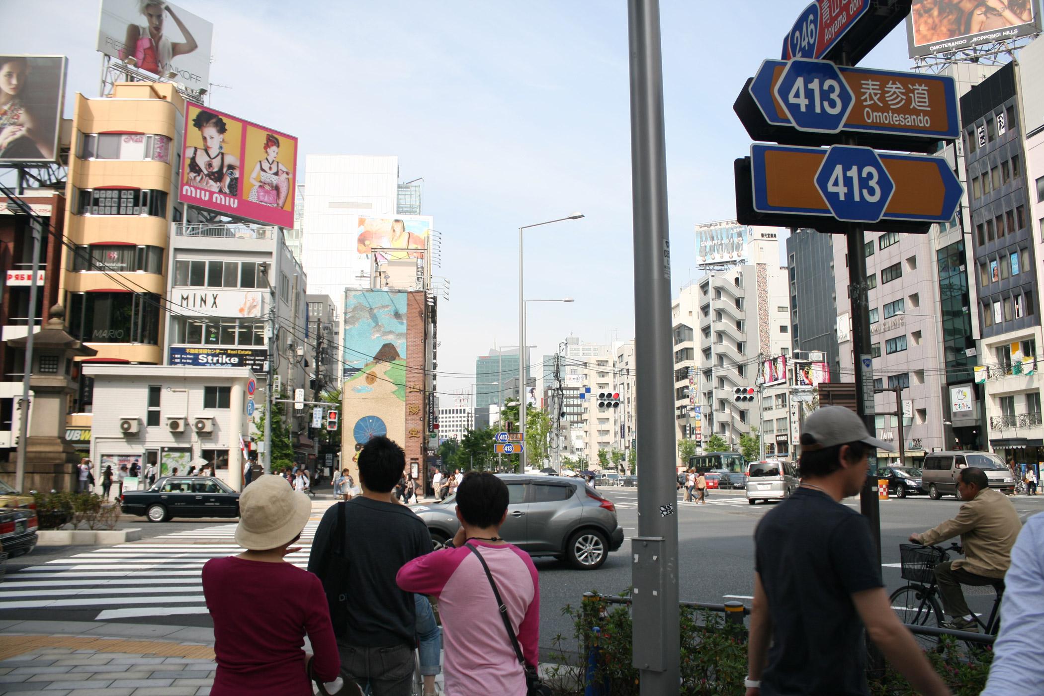 【街歩き】青山エリアで比較!みゆき通りと骨董通りの特徴は?