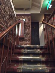 トリコロール階段