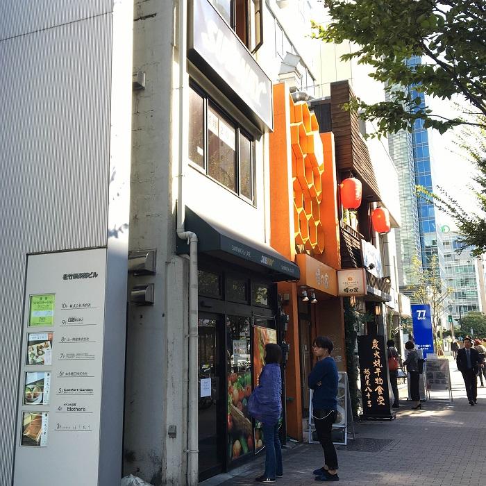 東銀座の飲食店舗2