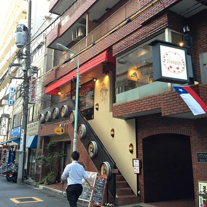 東銀座の飲食店舗1