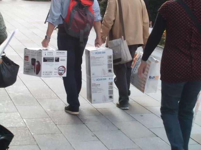 外国人買い物客