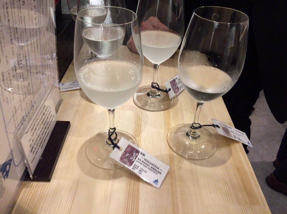 新貸店舗 酒スタンド グラス