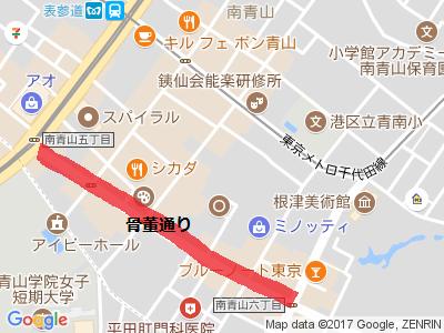 骨董通り地図