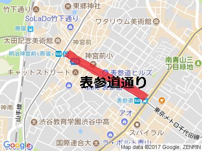 表参道地図