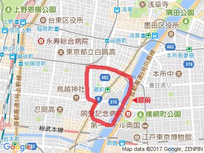 蔵前MAP
